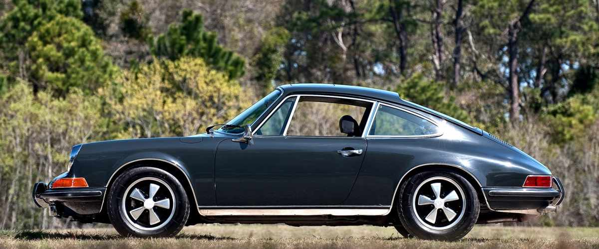 Steve mcQueens famous 1970 Porsche 911S