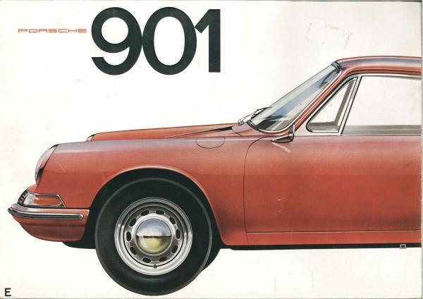 Rare Porsche 901 brochure sept 1963