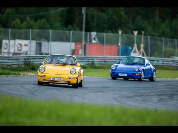Porsche 964 Carrera RS vs 964 Carrera 4 Lightweight