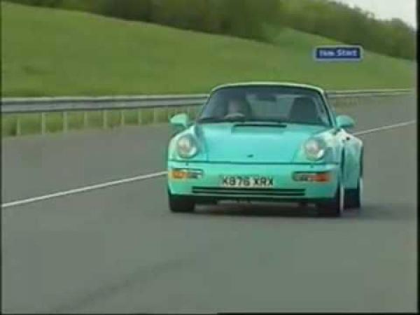 Old Top Gear - Tiff Needell reviews the 964 911 Turbo