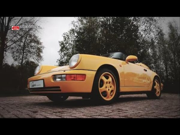 Porsche 911 (964) Speedster classic review