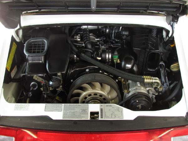 1995 911 Carrera 2 engine bay